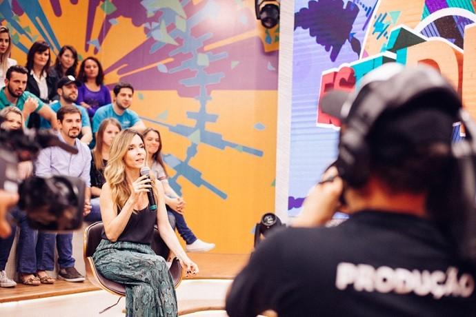 Gravando... (Foto: Divulgação/RPC)