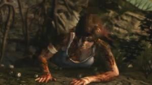 'Tomb Raider' foi demonstrado na conferência da Microsoft (Foto: Reprodução)