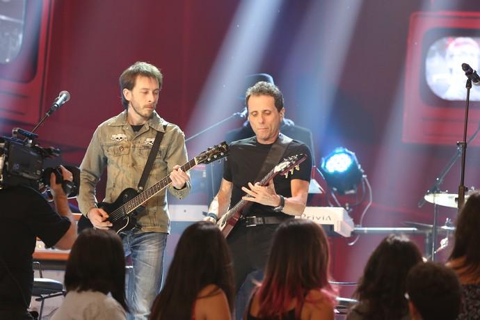 Beto Lee é o novo integrante da banda (Foto: Carol Caminha/Gshow)