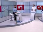 Candidatos à Prefeitura de Jaboatão  discutem propostas em debate do G1