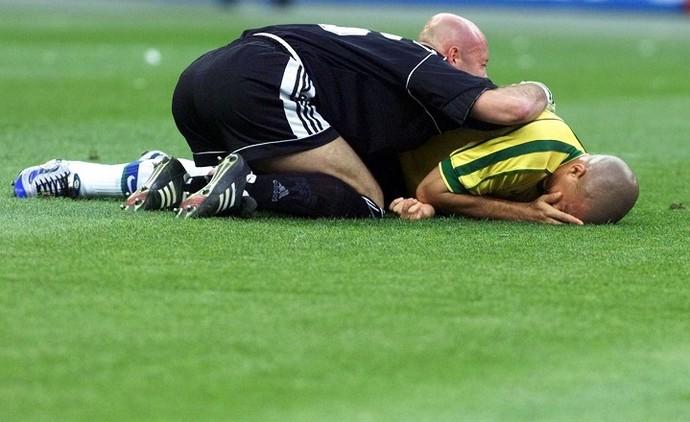 Derrota do Brasil contra a França na final da Copa de 1998 (Foto: Jorge Araújo)