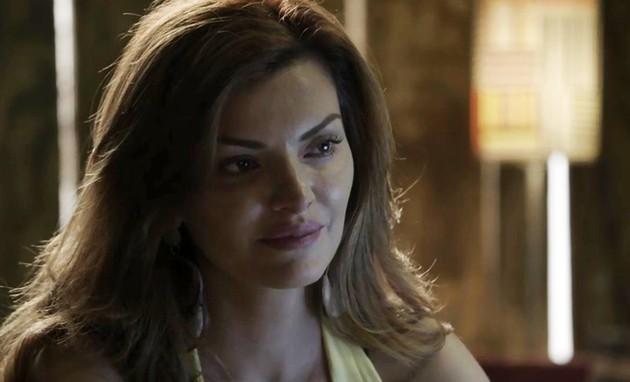 'O outro lado do paraíso': Mayana Neiva é Leandra (Foto: TV Globo)