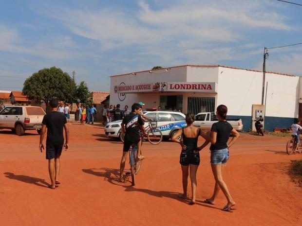 Homicídio aconteceu nesta segunda-feira, 16, em rua de Pimenta (Foto: Fernando Vieira/ Arquivo Pessoal)