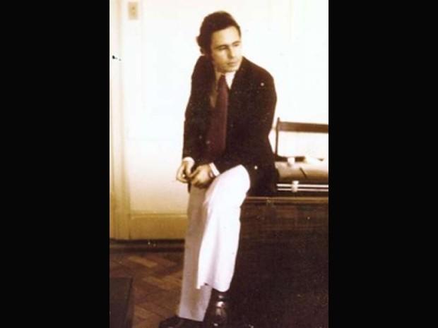Levy Fidelix nos anos 80, quando ajudou a fundar o Partido Liberal (Foto: Arquivo Pessoal)
