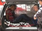 Bandidos fazem mais de 150 reféns em assalto a joalheria em SP