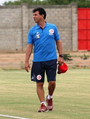 América-RN - Guilherme Macuglia, técnico (Foto: Canindé Pereira/Divulgação)