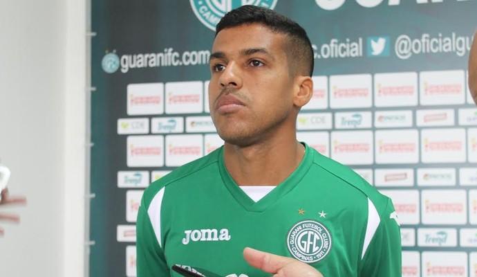 Daniel Damião lateral Guarani (Foto: Gabriela Del Rio / Guarani FC)
