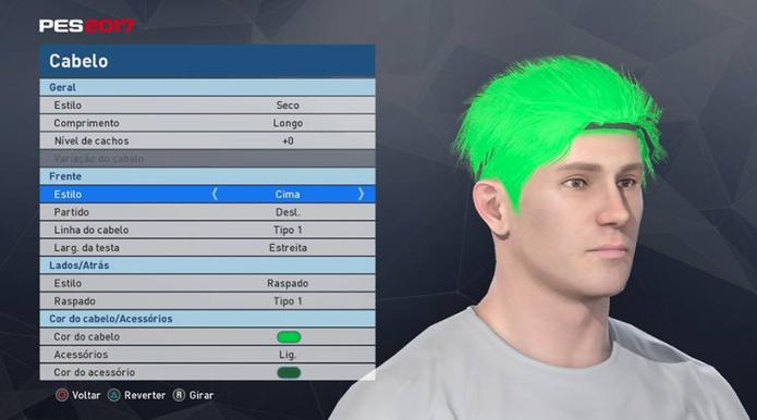 PES 2017: como criar um jogador com suas características no jogo (Foto: Reprodução/Felipe Vinha)