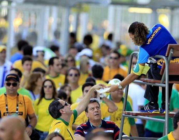 Voluntários Copa do Mundo (Foto: Divulgação)
