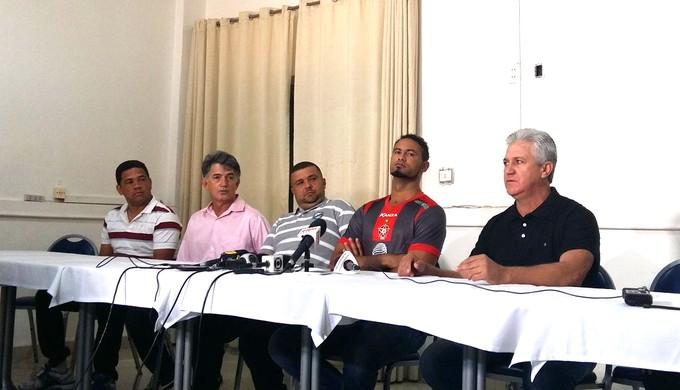Bruno Apresentação Boa esporte (Foto: Bruno Giufrida)