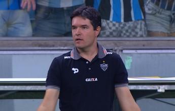 Giacomini elogia postura do Galo, mas lamenta pouca pressão sobre Grêmio