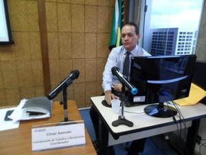 Cimar Azeredo (Foto: Lilian Quaino\G1)