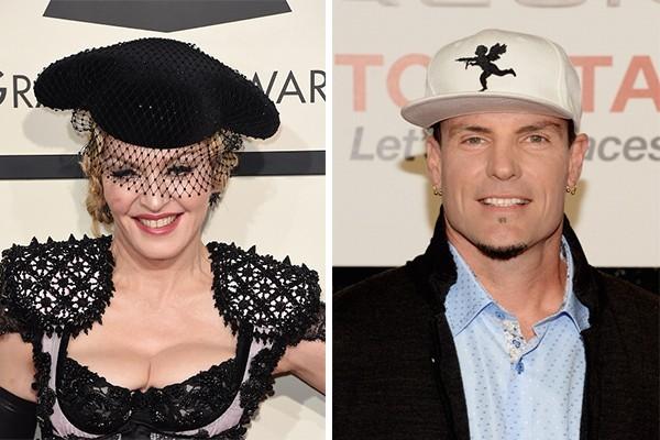 Madonna e Vanilla Ice (Foto: Getty Images)