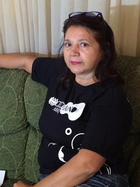 Divina de Mello, tia de Cristiano Araújo (Foto: Marília Neves / EGO)