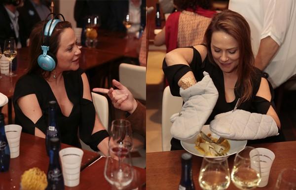 Viviane Pasmanter se desdobra para participar do jantar da ONG Access Israel  (Foto: Felipe Panfili)