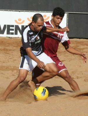 Anderson Wesley em ação pela Desportiva (Foto: Arquivo Pessoal/Anderson Wesley)