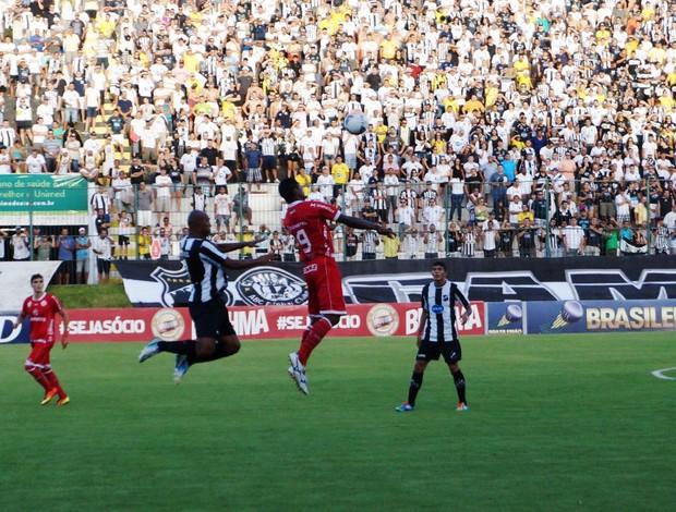 ABC e América-RN empataram por 3 a 3 no clássico potiguar (Foto: Augusto Gomes)