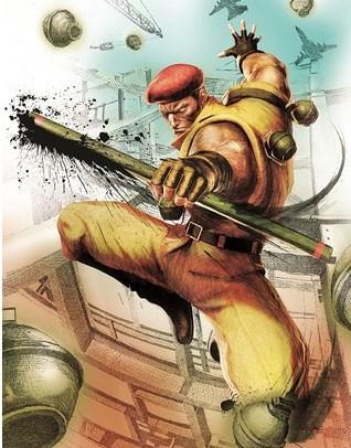 Rolento, da série 'Street Fighter Alpha' está de volta em atualização de 'Street Fighter IV' (Foto: Divulgação/Capcom)