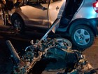 Com sinais de embriaguez, agente penitenciário é preso após acidente