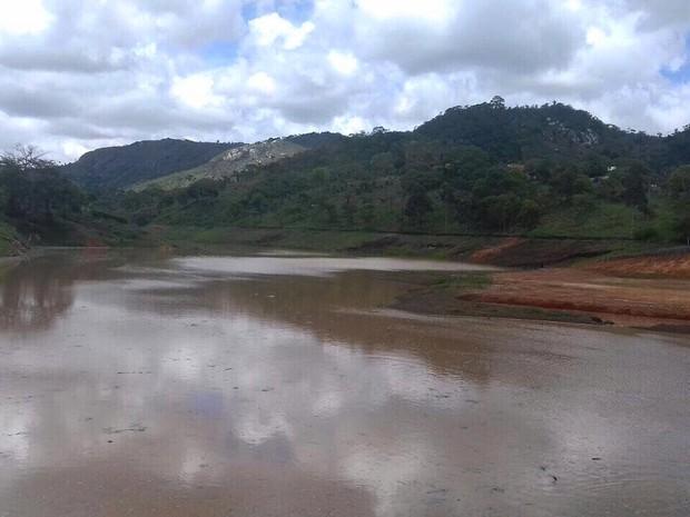 Barragem de Santana II tem a capacidade de acumular 568 mil m³ (Foto: Divulgação / Assessoria)
