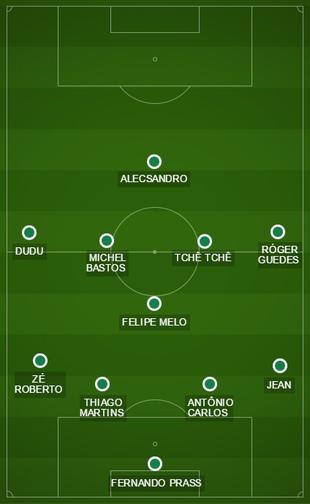 Campinho Palmeiras Time 1 Barbarense (Foto: GloboEsporte.com)