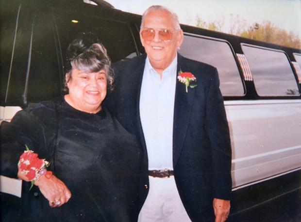 Fotografia de arquivo do casal (Foto: Divulgação/Orleans Hub)