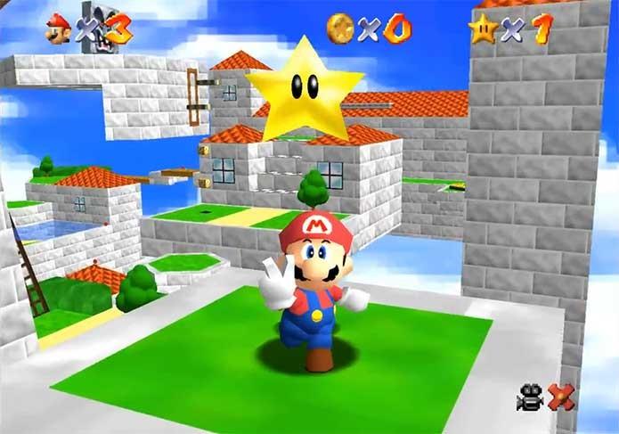 Super Mairo 64 foi revolucionário (Foto: Divulgação/Nintendo)