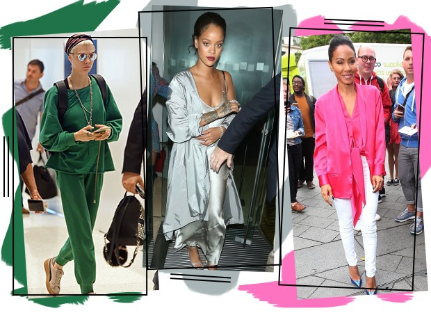 Cara Delevingne, Rihanna e Jada Pinkett Smith (Foto: Divulgação)