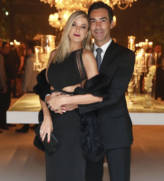 César Tralli e Ticiane Pinheiro (Foto: Manuela Scarpa/Brazil News)