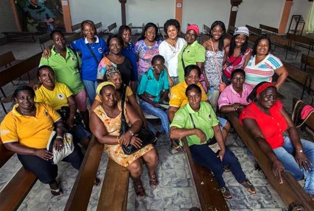 Dezenove mulheres coordenam o trabalho da Rede Borboletas, na Colômbia, que ganhou o prêmio Nansen nesta sexta-feira (11) (Foto: ACNUR / L. Zanetti)