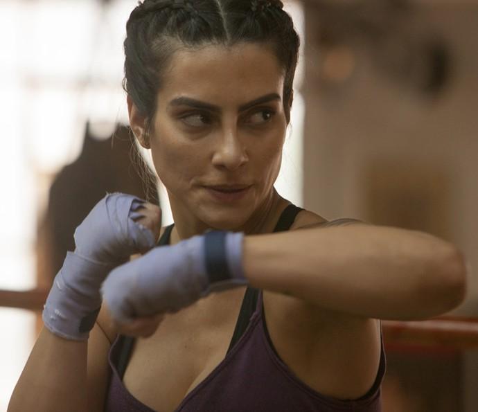 Personagem de Cleo Pires luta na mesma academia que José Aldo (Foto: Divulgação)