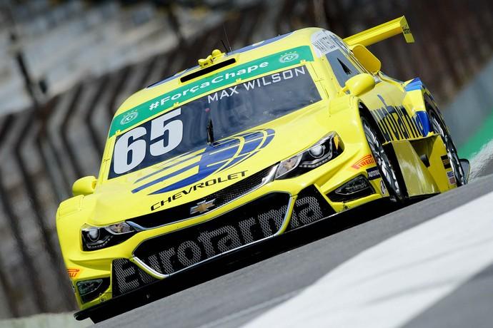 Max Wilson é o mais rápido no 2º treino livre da Stock Car em Interlagos (Foto: Fernanda Freixosa)