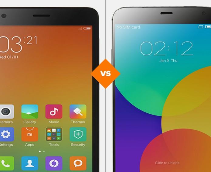 RedMi 2 ou Meizu MX4? Confira o comparativo e decida qual smart chinês é o melhor (Foto: Arte/TechTudo)