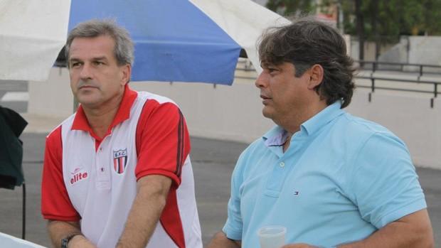 Marcelo Veiga e André Zaros, em Sorocaba (Foto: Rogério Moroti / Assessoria BFC)