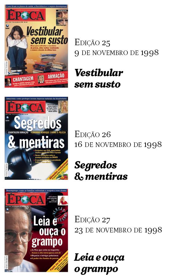 Capas Época (Foto: Época)