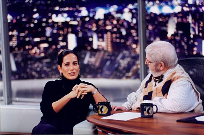 27. Glória Pires (Foto: Ricardo Martins/Programa do Jô)