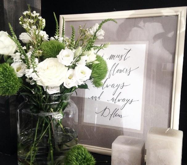 Acredite: as flores vão mudar o astral da sua casa! (Foto: @d.fleur_gomel/Instagram)
