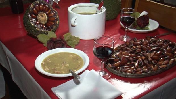 Para os dias frios, a receita de uma sopa de pinhão (Foto: Divulgação)