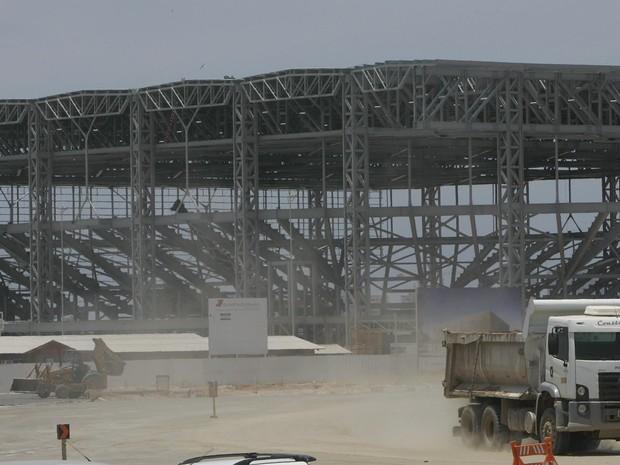 Parque Olímpico na Barra ta Tijuca, Zona Oeste do Rio, vai sediar competições da Rio 2016 (Foto: Fábio Gonçalves/Agência O Dia/Estadão Conteúdo)