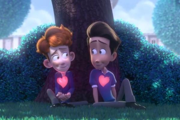 Uma cena da animação viral comparada a produções da Disney (Foto: YouTube)