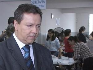 Orlando Israel de Souza, juiz em Divinópolis (Foto: TV Integração/Reprodução)