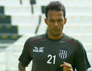 Bruno Silva em treino da Ponte Preta (Foto: Reprodução EPTV)
