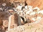 Cratera abre em estrada rural de Capão Bonito e preocupa moradores
