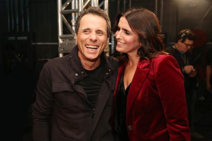 Tony Bellotto e Malu Mader: casal apaixonado! (Foto: Carol Caminha/Gshow)