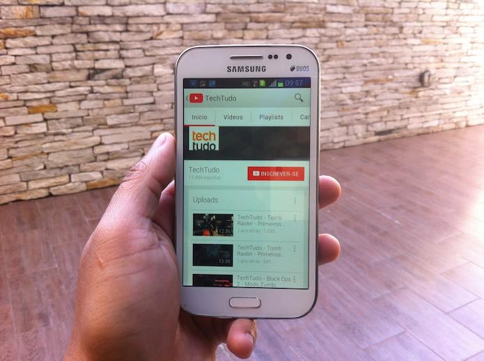 Como criar uma conta no YouTube através do aplicativo para Android? (Foto: Marvin Costa/TechTudo)