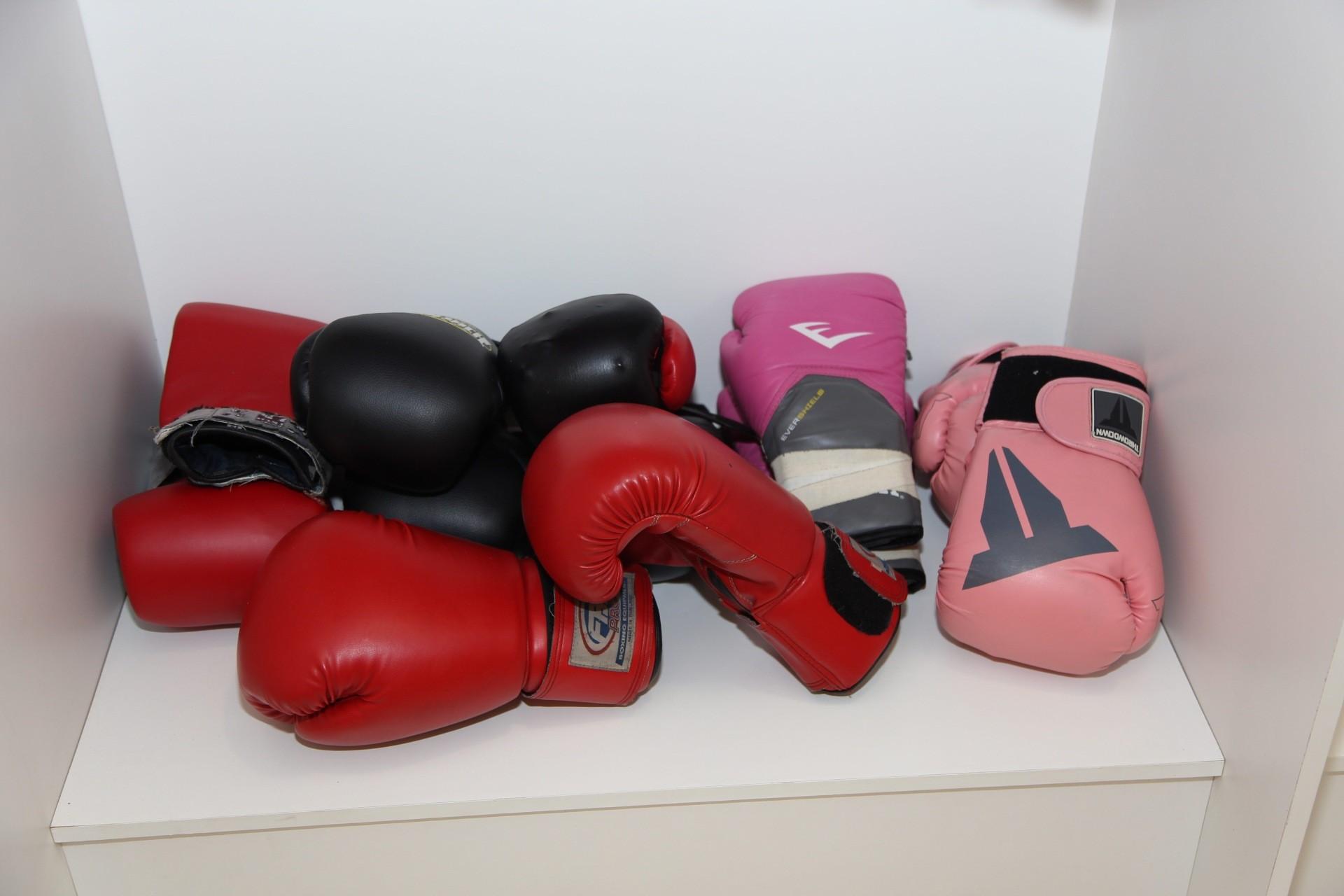 As luvas de boxe vo ganhar espao na apresentao (Foto: Fabiano Leone)