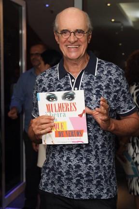 Marcos Caruso em peça no Rio (Foto: Anderson Borde/ Ag. News)