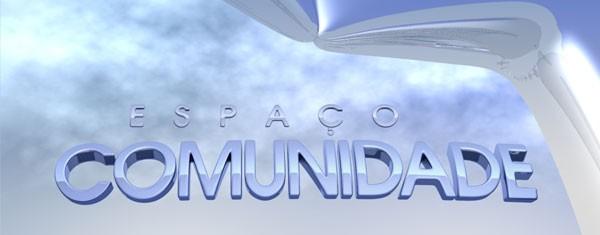 TV Integração da início ao projeto Espaço Comunidade  (Foto: Divulgação / TV Integração)