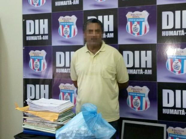 Homem usava registro pertencente à outra advogada, segundo a polícia (Foto: Divulgação/Polícia Civil)