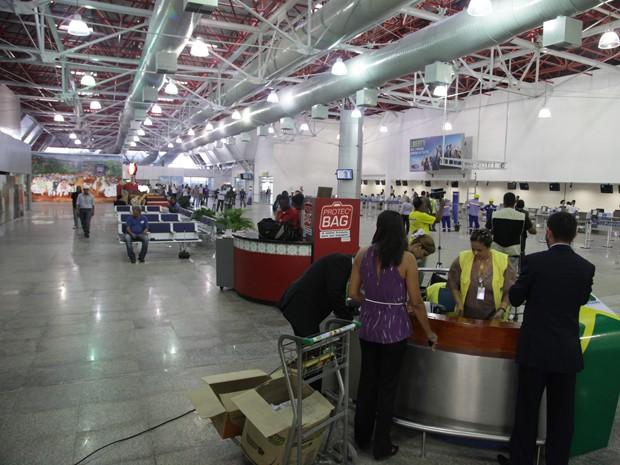 Aeroporto de São Luís volta a funcionar após um ano e meio em reformas (Foto: De Jesus/O Estado)